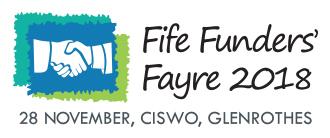 Fife Funders' Fayre 2018 logo